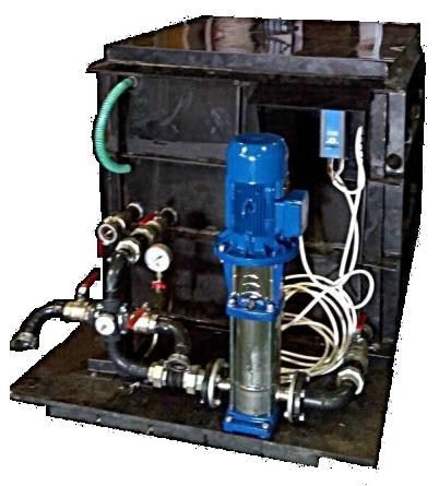 Установка для промывки отопления Novochem-Pump-30000/70