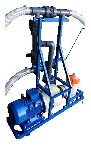 Насос для промывки отопления Novochem-Pump-65000/39