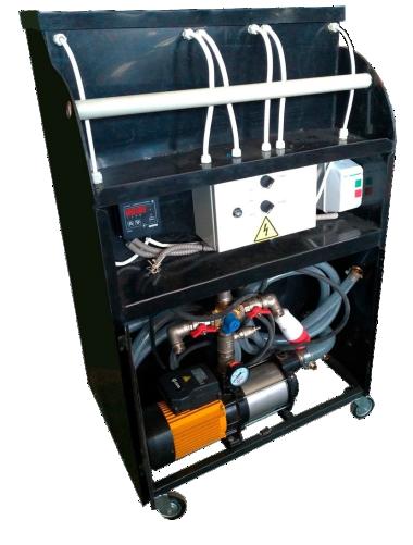 Установка для гидропневматической промывки Novochem-Pump-15000/50