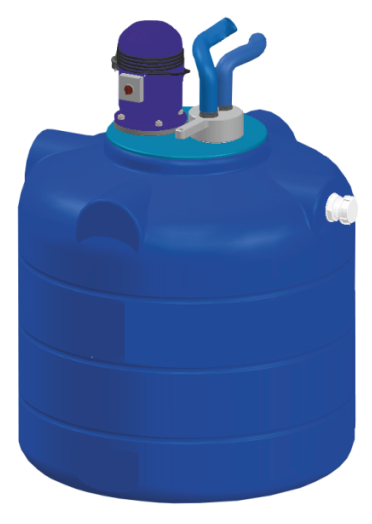Аппарат для промывки отопления Novochem-Pump-26000/21