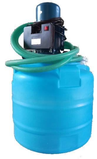 Аппарат для промывки труб Novochem-Pump-12200/28