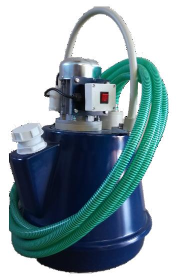 Аппарат для промывки котлов Novochem-Pump-В-4400/13
