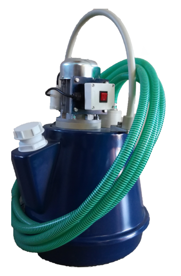 Аппарат для промывки теплообменников Novochem-Pump-B-3500/7