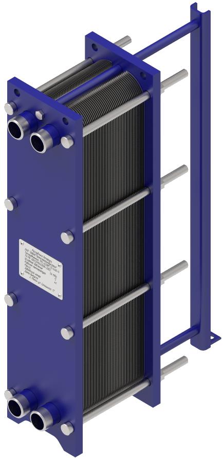 Теплообменник пластинчатый ТРc-0,08Р/ТРс-0,08D