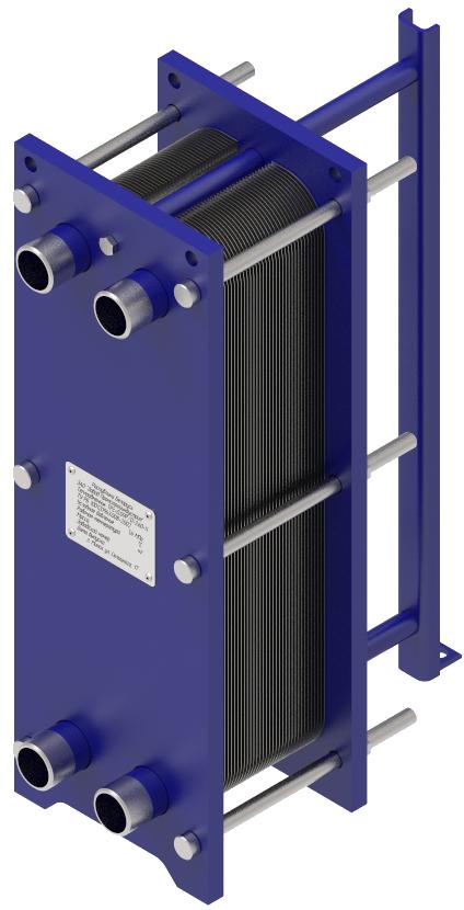 Теплообменник пластинчатый ТРс-0,09P/ТРс-0,09D